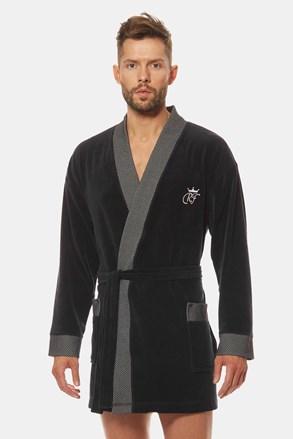 Чорний халат Royal BJ