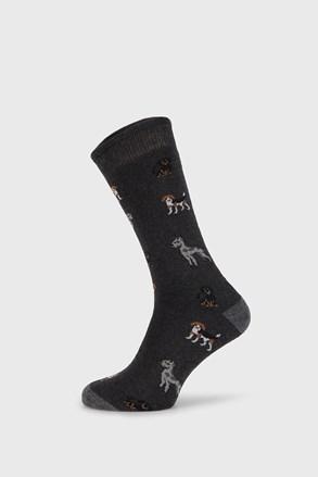 Темно-сірі шкарпетки Fantasy