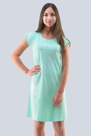 Нічна сорочка для дівчинки Hearts м'ятна