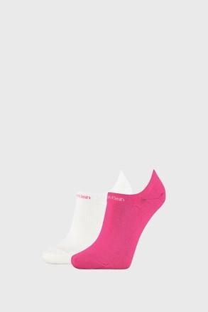 2 ПАРИ жіночих шкарпеток Calvin Klein Leanne рожево-білі