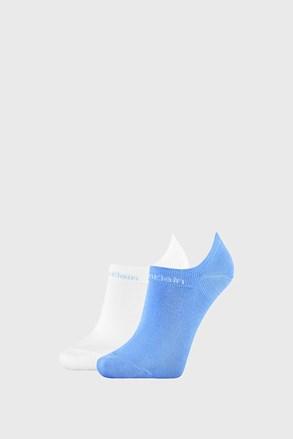 2 ПАРИ жіночих шкарпеток Calvin Klein Leanne синьо-білі