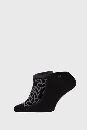 2 ПАРИ чорних шкарпеток Calvin Klein Deangelo