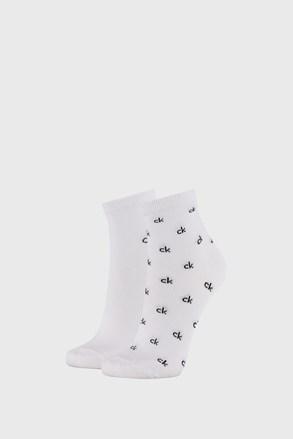 2 ПАРИ жіночих білих шкарпеток Calvin Klein Gretchen