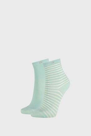 2 ПАРИ жіночих шкарпеток Calvin Klein Lilly зелені