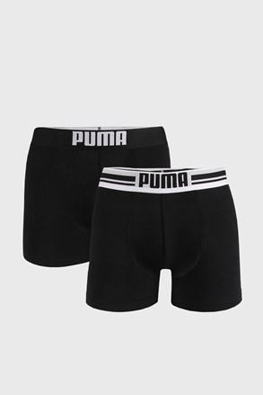2 ШТ чорних боксерок Puma Placed Logo