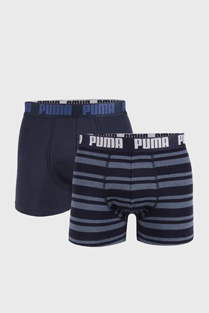 2 ШТ темно-синіх боксерок Puma Heritage Stripe