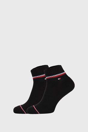 2 ПАРИ чорних шкарпеток Tommy Hilfiger Iconic