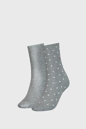 2 ПАРИ жіночих шкарпеток Tommy Hilfiger Dot Grey