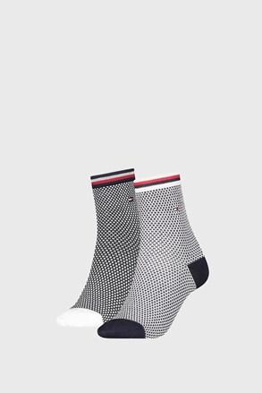 2 ПАРИ жіночих шкарпеток Tommy Hilfiger Honeycomb Navy