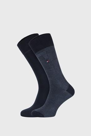 2 ПАРИ темно-синіх шкарпеток Tommy Hilfiger Rib