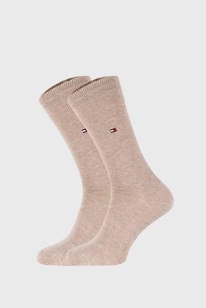 2 ПАРИ бежевих шкарпеток Tommy Hilfiger Classic