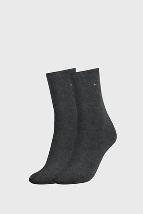 2 ПАРИ темно-сірих жіночих шкарпеток Tommy Hilfiger Casual
