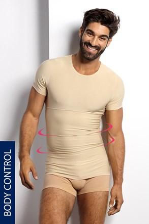 Стягуюча футболка з круглим вирізом PLUS SIZE