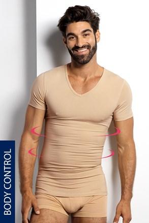 Корегуюча футболка з v-подібним вирізом