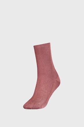 Жіночі рожеві шкарпетки Tommy Hilfiger Small rib