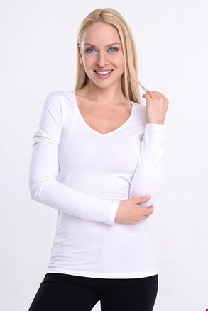 Жіноча футболка Garzato з довгими рукавами