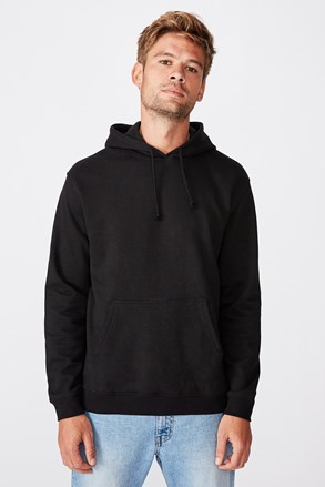Чорний світшот Essential Fleece
