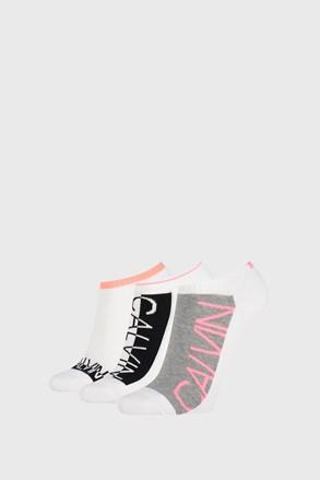 3 ПАРИ жіночих шкарпеток Calvin Klein Nola білі
