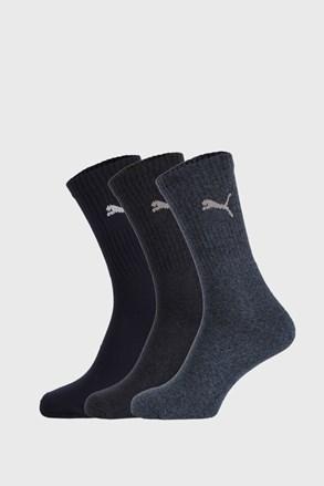 3 ПАРИ темно-синіх шкарпеток Puma Sport