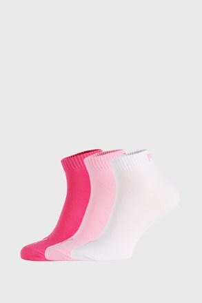 3 ПАРИ рожевих шкарпеток Puma Quarter Plain