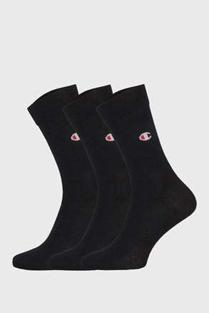 3 ПАРИ високих чорних шкарпеток Champion