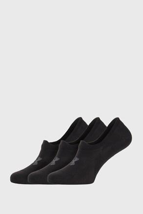 3 ПАРИ чорних низьких шкарпеток Under Armour