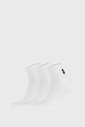 3 ПАРИ білих шкарпеток Core Under Armour