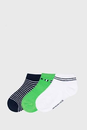 3 ПАРИ низьких шкарпеток Matcha
