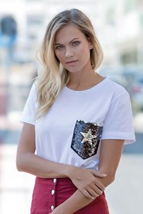 Жіноча футболка з короткими рукавами Star