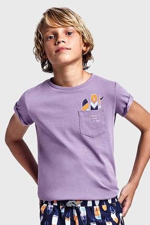 Футболка для хлопчика Mayoral Grape фіолетова