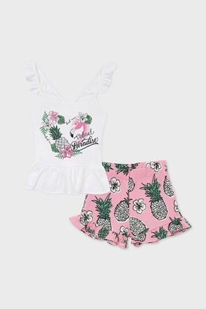 Комплект топ і шорти для дівчат Mayoral Paradise