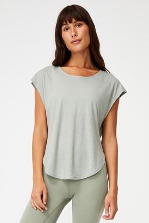 Жіноча зелена спортивна футболка
