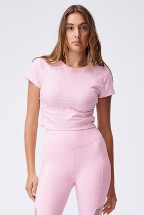 Жіноча футболка Side рожева