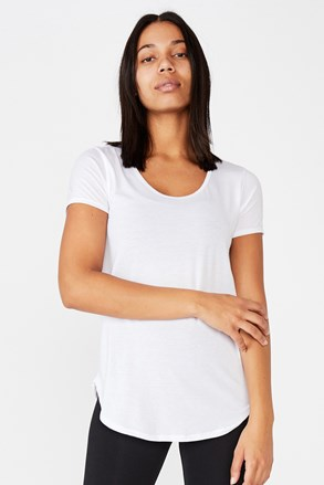 Спортивна футболка Gym біла