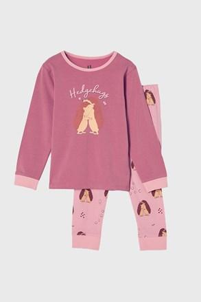 Піжама для дівчаток Hedgehog hugs