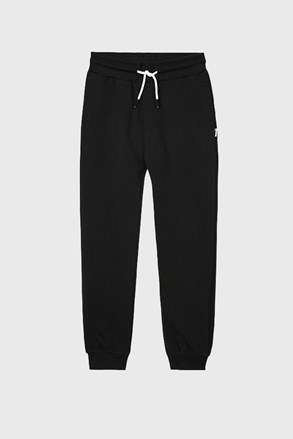 Трикотажні штани для хлопчиків Vinyl чорні