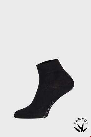 Чорні бамбукові шкарпетки середньо-високі