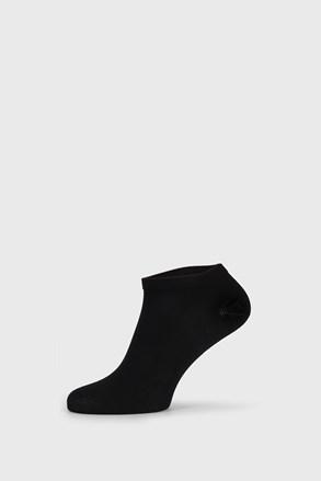 Чорні бамбукові шкарпетки низькі