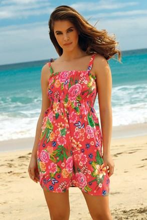 Пляжна сукня Leafy Coral
