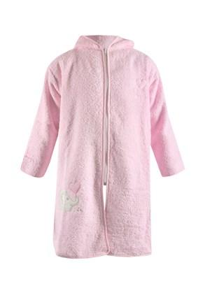 Дитячий халат Blue Kids рожевий слон