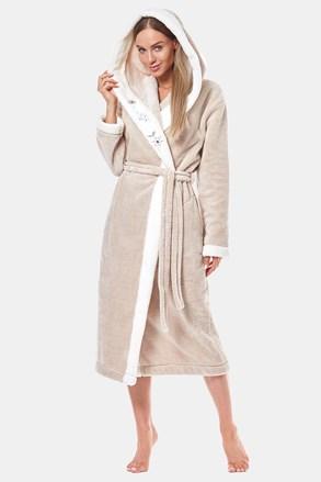 Жіночий теплий халат Onyx