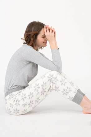 Жіночі піжамні штани Snow