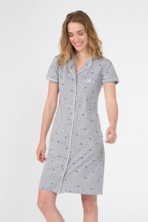 Жіноча нічна сорочка Ingt сіра