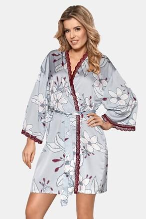 Жіночий халат з атласу Aurora