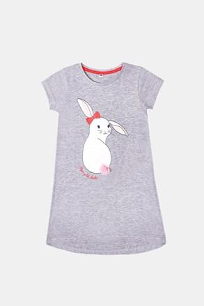 Нічна сорочка для дівчаток Buny сіра