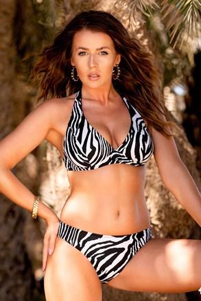 Жіночий роздільний купальник Borneo Zebra