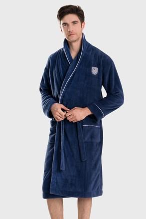 Темно-синій халат Borys