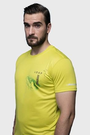 Жовта футболка LOAP Malty