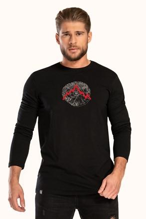 Чорна футболка LOAP Albert