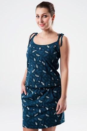 Жіноча синя сукня LOAP Berenika